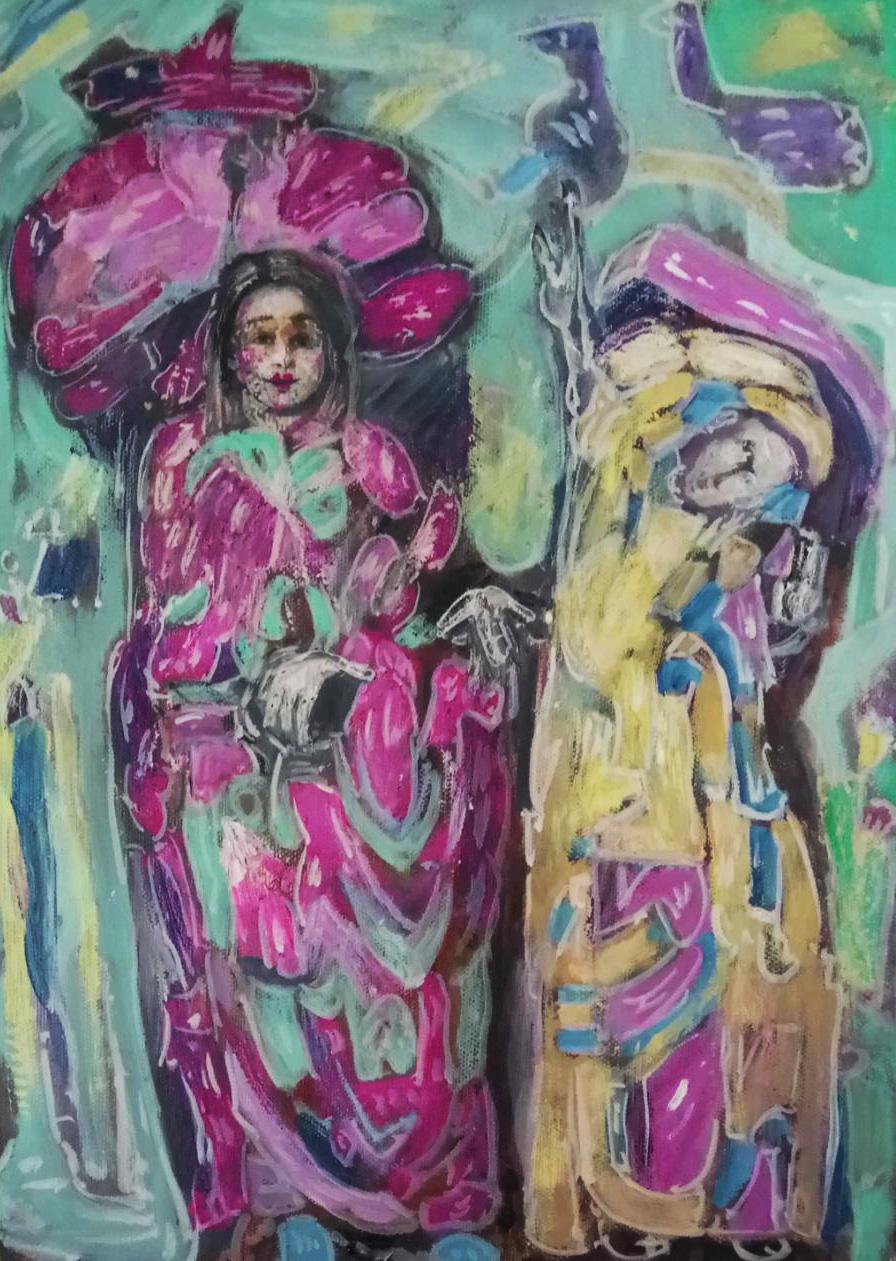 Claudia Tübke Malerei